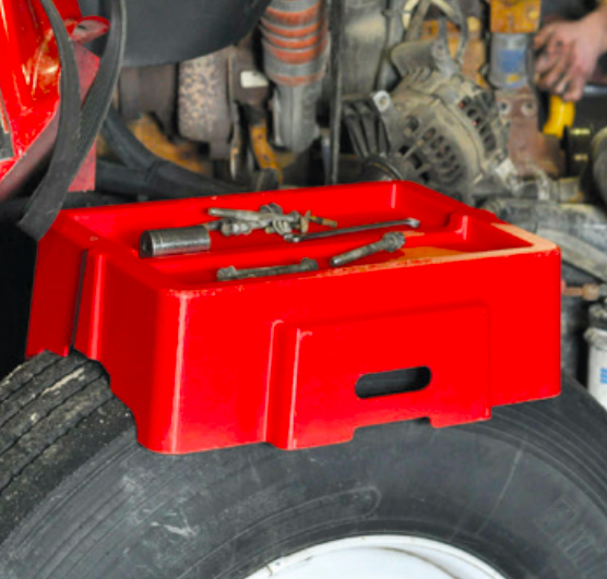 Blaine Bros - single wheel tool box